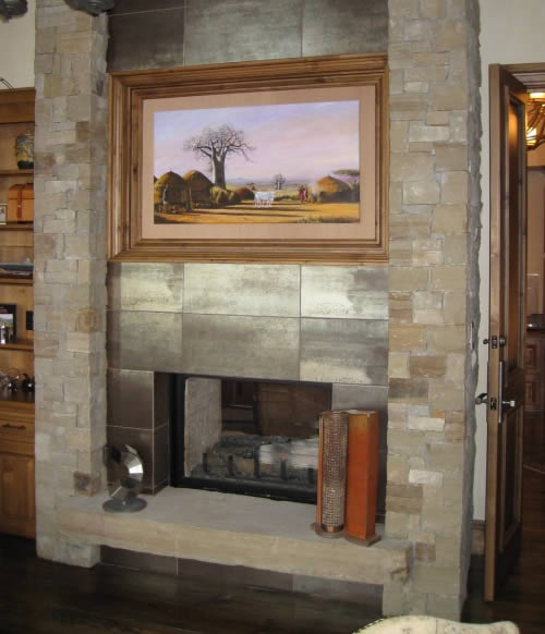 Telluride Stone Fireplaces