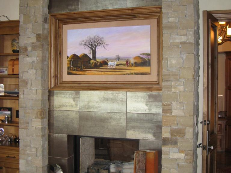 Aspen Grove Fireplace