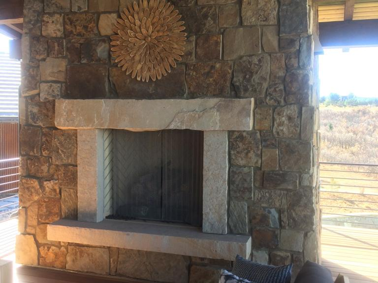 Colorado Blend Chopped Fireplace