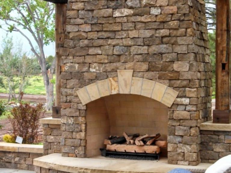 Sagebrush Fireplace