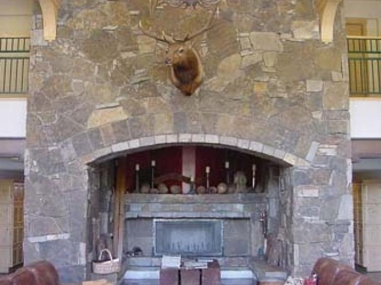 Negril Fireplace