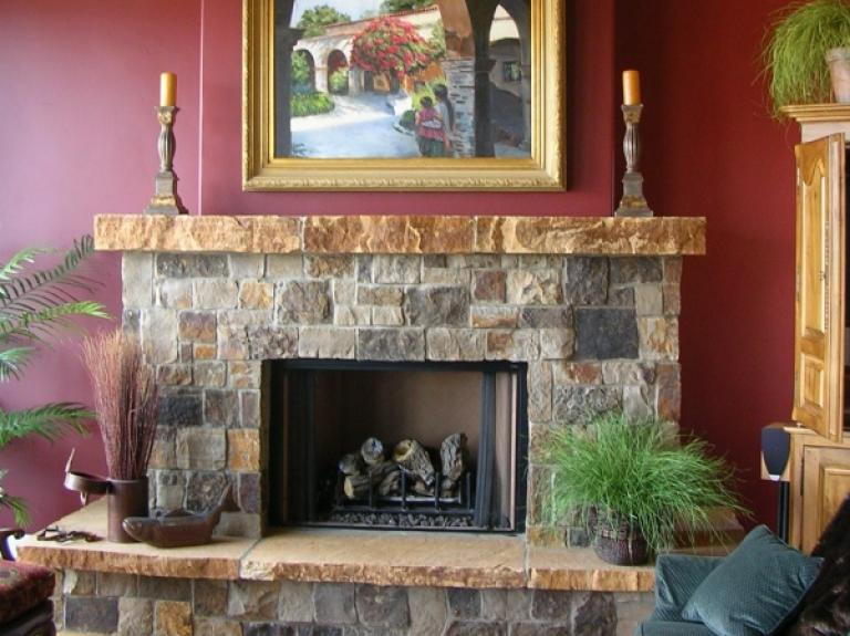 Rico Stack Fireplace
