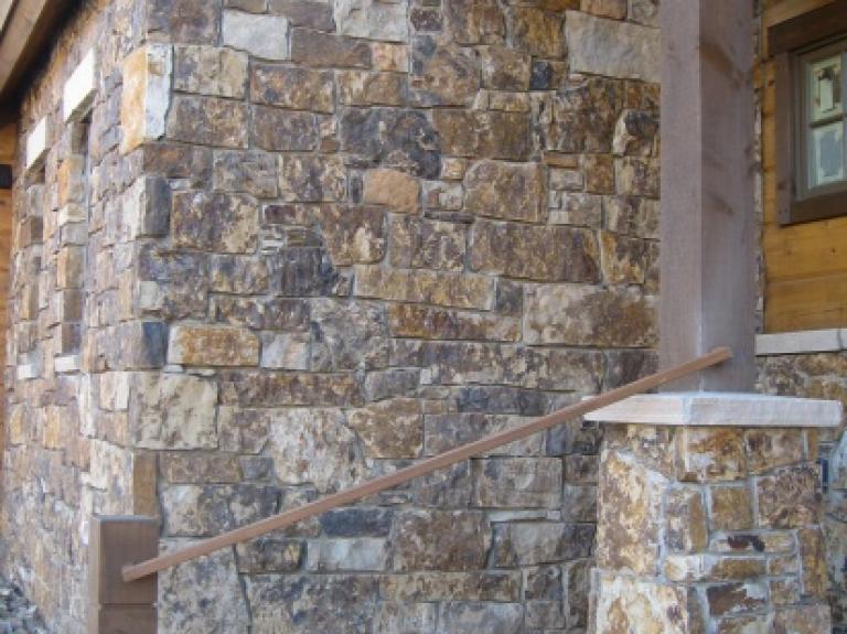 Chestnut Brown Full Stone Veneer