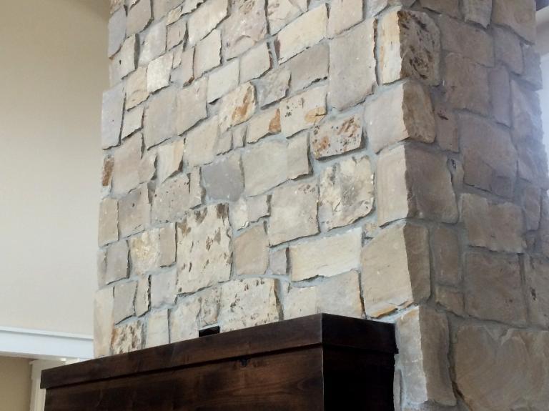 Greystone All Grey Fireplace