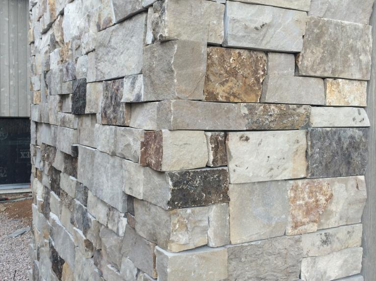 Greystone Ledge Sawn top+bottom