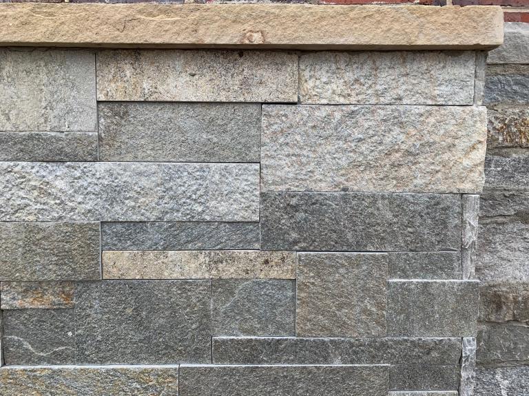 """Quartzite Sawn 4 Sides 2""""/4""""/6"""""""