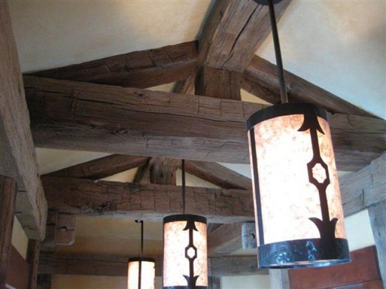 Reclaimed Ceiling Beams