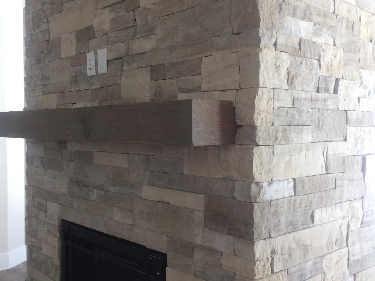 Silverleaf All Grey Fireplace