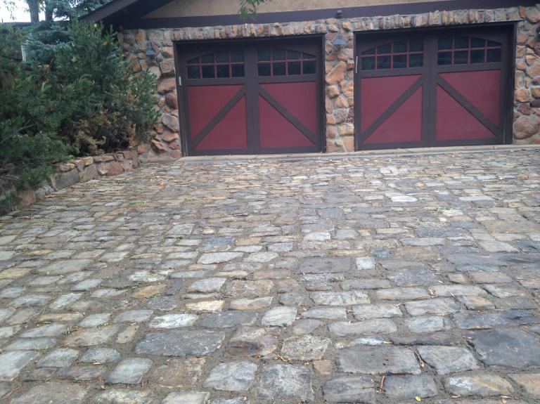 Telluride Gold Pavers Mixed Sizes