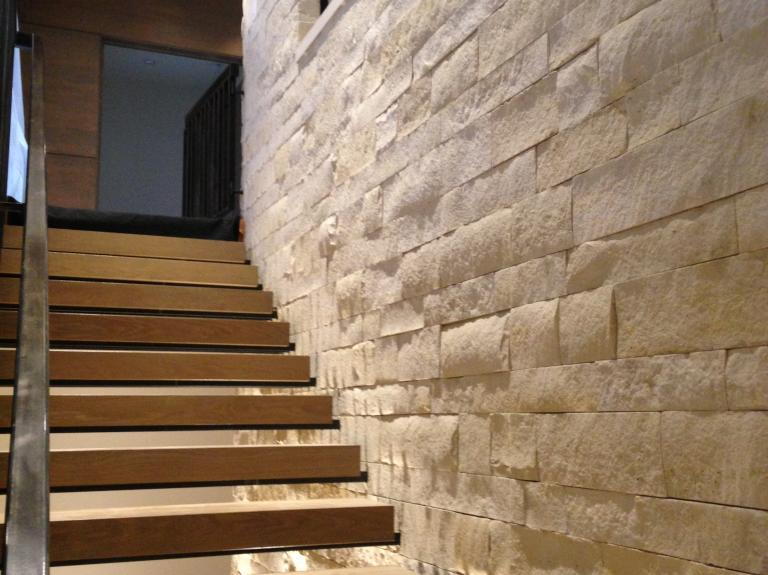 White Buff Stairs