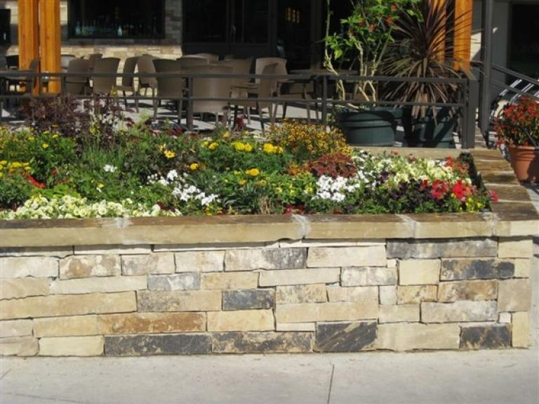 Santa Fe Ledge Flower wall